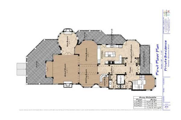 A5 First Floor Plan