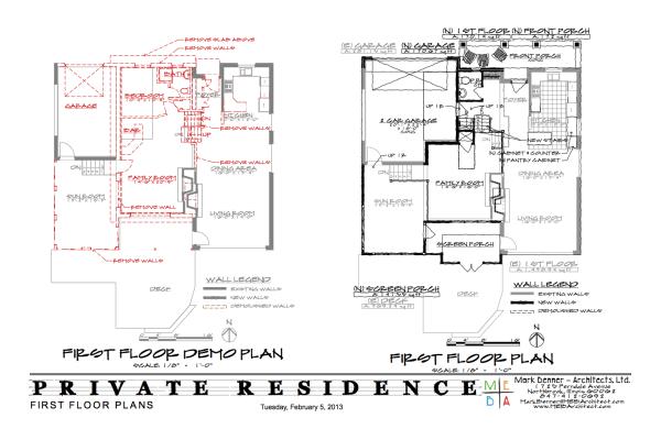 Un-Split First Floor Plans