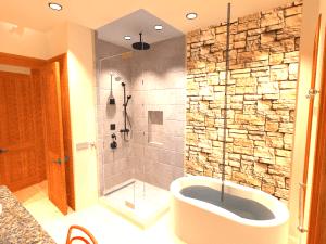 Architect's Bungalow Master Bath - big plans for 2017