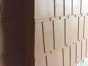 A classic detail using modern materials