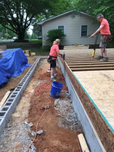 Floor Deck Framing