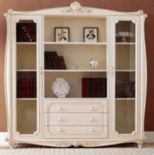 Книжный шкаф 3-х дверный