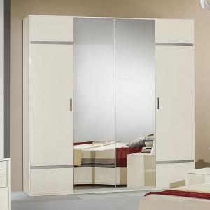 Шкаф 4-х дв.с зеркалом