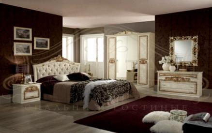 Спальный гарнитур Мишель спальня фабрика Ювита