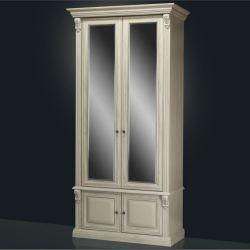 Шкаф 2-х створчатый с зеркалами Б5.15-2 Карамель