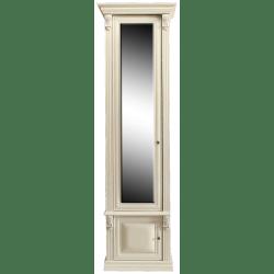 Шкаф 1-ств. с зеркалом Б5.15-1 Карамель