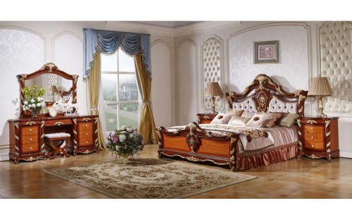 """Спальня """"Опера"""" Светлый 5 дверная Ткань, велюр 889"""