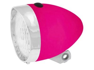 Ružové retro svetlo