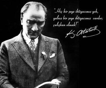 Atatürk'ün Hayatta En Hakiki Mürşit İlimdir Sözünün Açıklaması