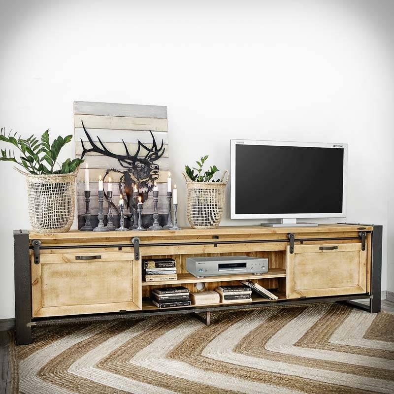 grand meuble tv industriel factory 225
