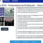 Draftquest une web app - article