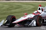Helio Castroneves Indycar at Road America 2016