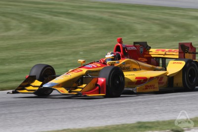 Ryan Hunter-Reay Indycar at Road America 2016