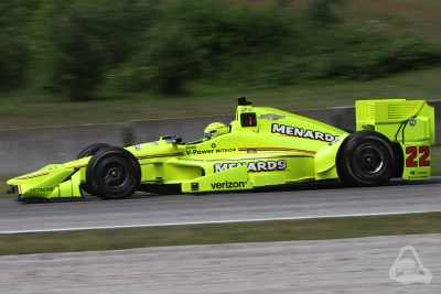 Simon Pagenaud at Road America