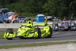 Simon Pagenaud and Will Power at Road America