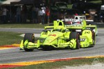 Simon Pagenaud and Helio Castroneves at Road America