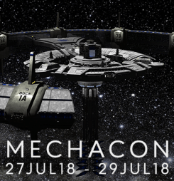 Thanks to everyone who made MechaCon 2317 a huge success!