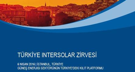 İnter Solar Zirvesi İstanbulda