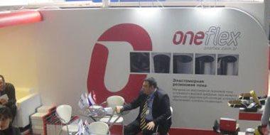 Oneflex, Climate World 2014 Fuarı'na Katıldı.