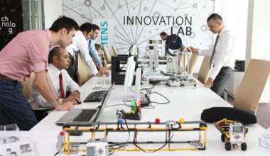Siemens İnovasyon Laboratuvarı Açıldı