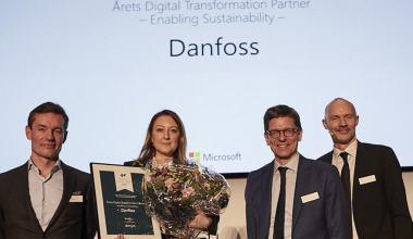 Danfoss'a Microsoft'tan Ödül