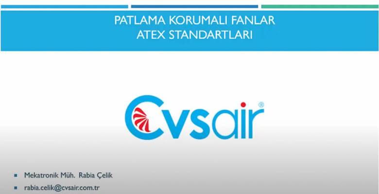 PATLAMA KORUMALI FANLAR ATEX STANDARTLARI (Ücretsiz Video Eğitim)