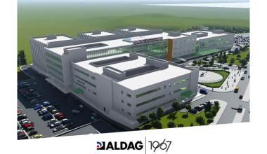 Yeni Yalova Devlet Hastanesi'nin Yapımında ALDAĞ Tercih Edildi