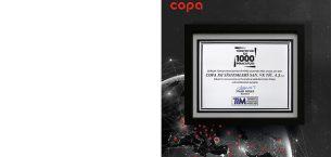 Copa Isı Sistemleri Türkiye'nin İlk 1000 İhracatçısı Arasında