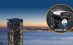 İzka Port Bayraklı'da LOWARA Pompa ve Hidrofor Sistemleri Hizmet Veriyor