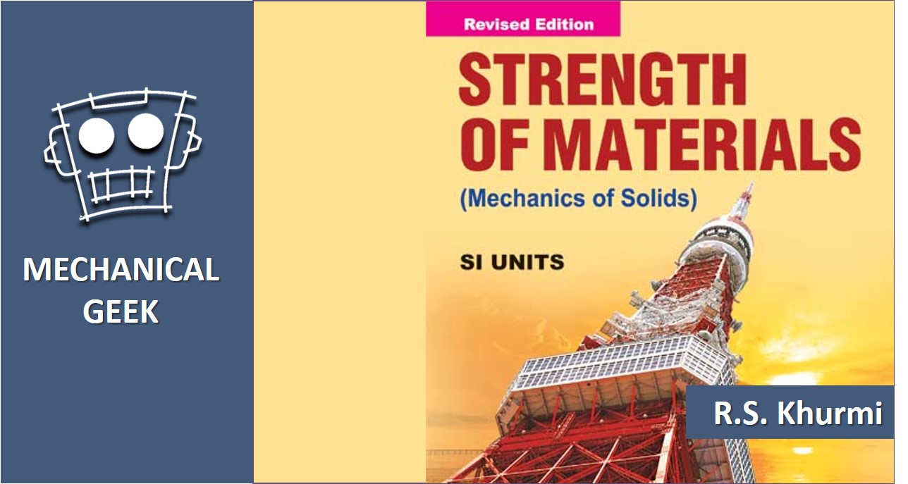 Strength Of Material Book By Rs Khurmi Pdf