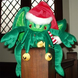 It's Santa Cthulhu!