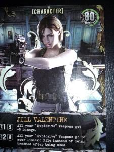 Resident Evil Card