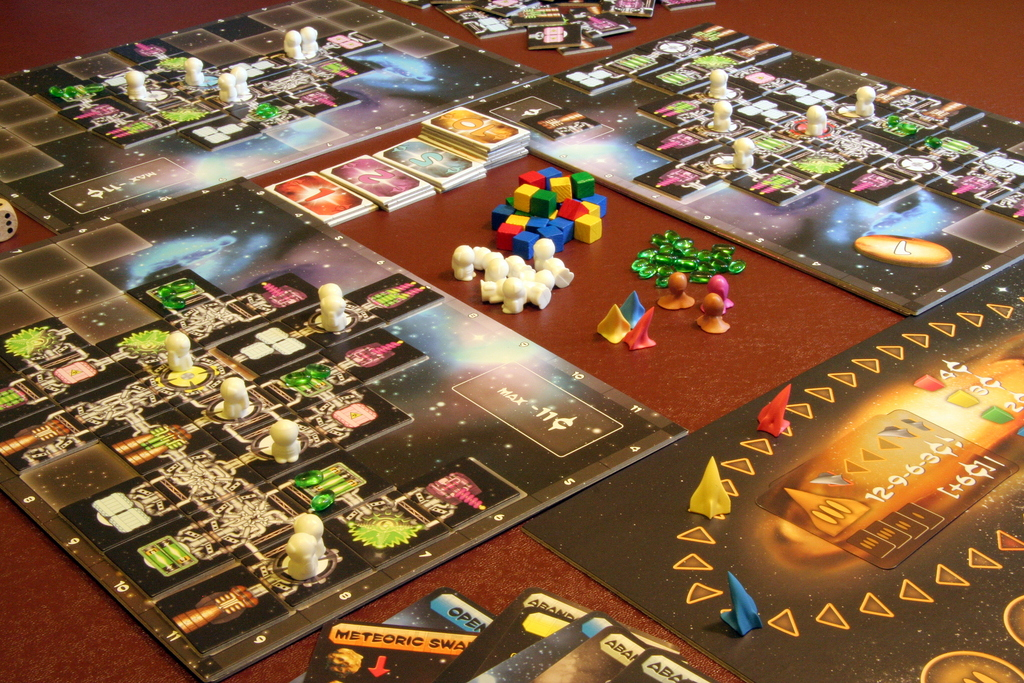 Six Designs of Real-Time Games   Mechanics & Meeples