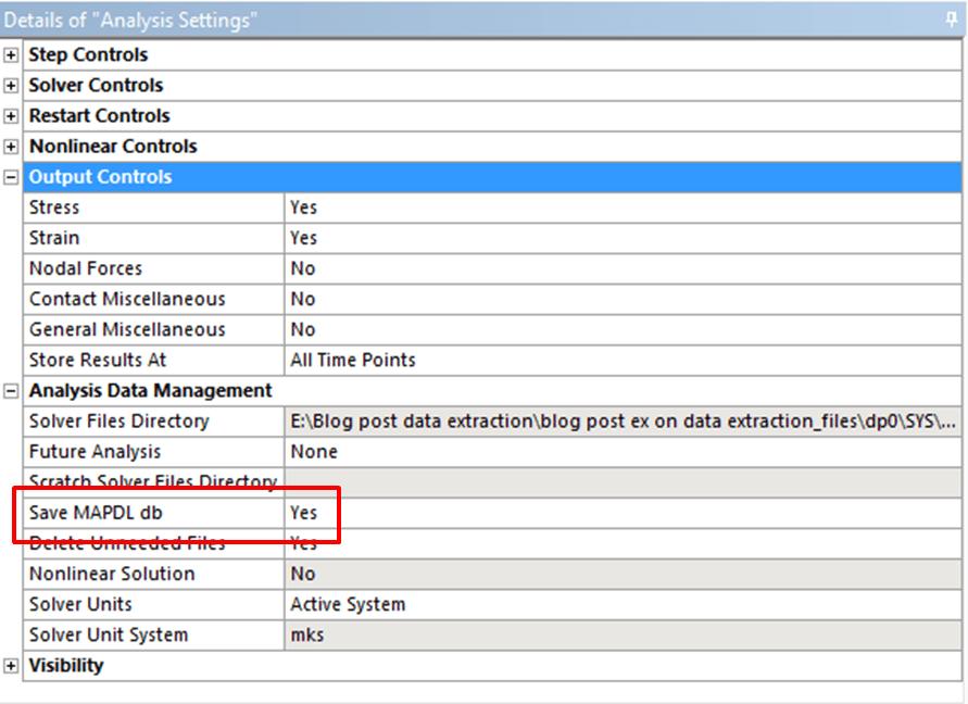 Ansys Apdl Output File