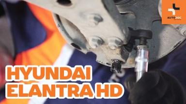 Hyundai Elantra HD Traggelenk