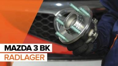 Mazda 3 BK radlager hinten