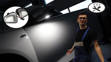 Volkswagen Scirocco Umfeldbeleuchtung