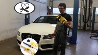 Audi A5 B8 Tieferlegen
