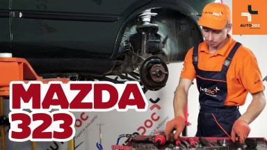 Mazda 323 Bremszylinder hinten