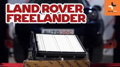 Land Rover Freelander Pollenfilter
