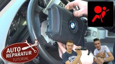 BMW 3er E36 Lenkrad und Airbag