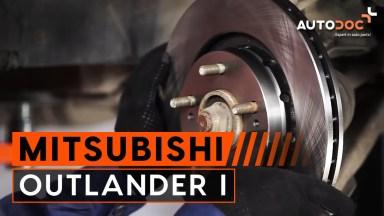 Mitsubishi Outlander 1 Bremsen vorne