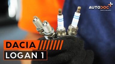 Dacia Logan 1 Zündkerze wechseln