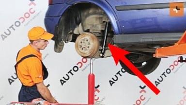 Opel Astra G Stoßdämpfer hinten
