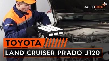 Toyota Land Cruiser Prado J120 Luftfilter