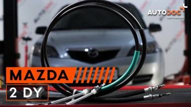 Mazda 2 DY Handbremsseil