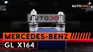 Mercedes-Benz GL X164 Koppelstange hinten