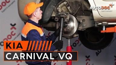 Kia Carnival VQ Stoßdämpfer hinten