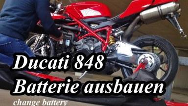 Ducati 848 bis 1198 Batterie