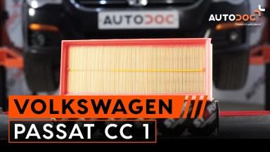 Volkswagen Passat CC 1 Luftfilter